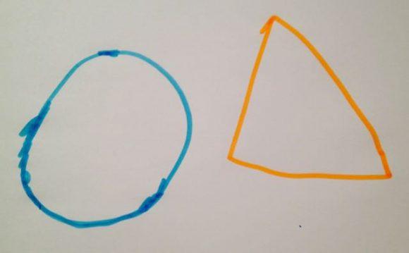 Kreis und Dreieck