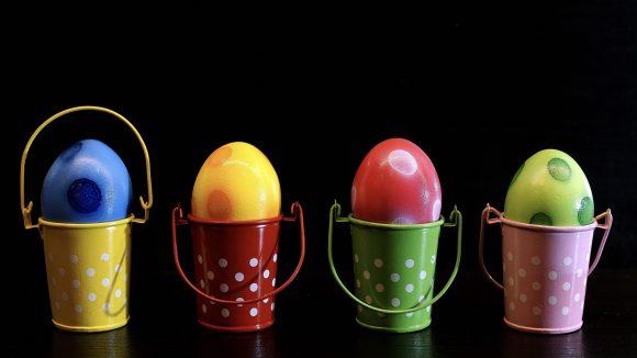 Mengenerfassung mit Eiern